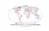 Soil moisture anomalies for the year 2012 from the ESA's CCI satellite-based soil moisture product